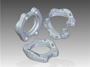 | SAE Split flanges
